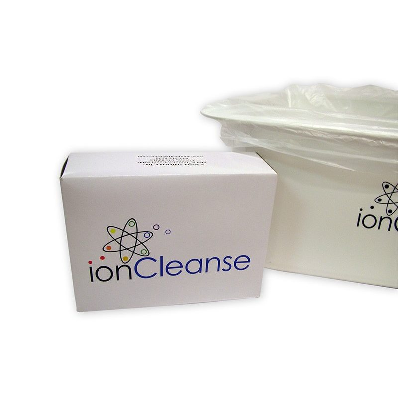 Ioncleanse foot tub liners 30 count a major difference for Tub liners cost