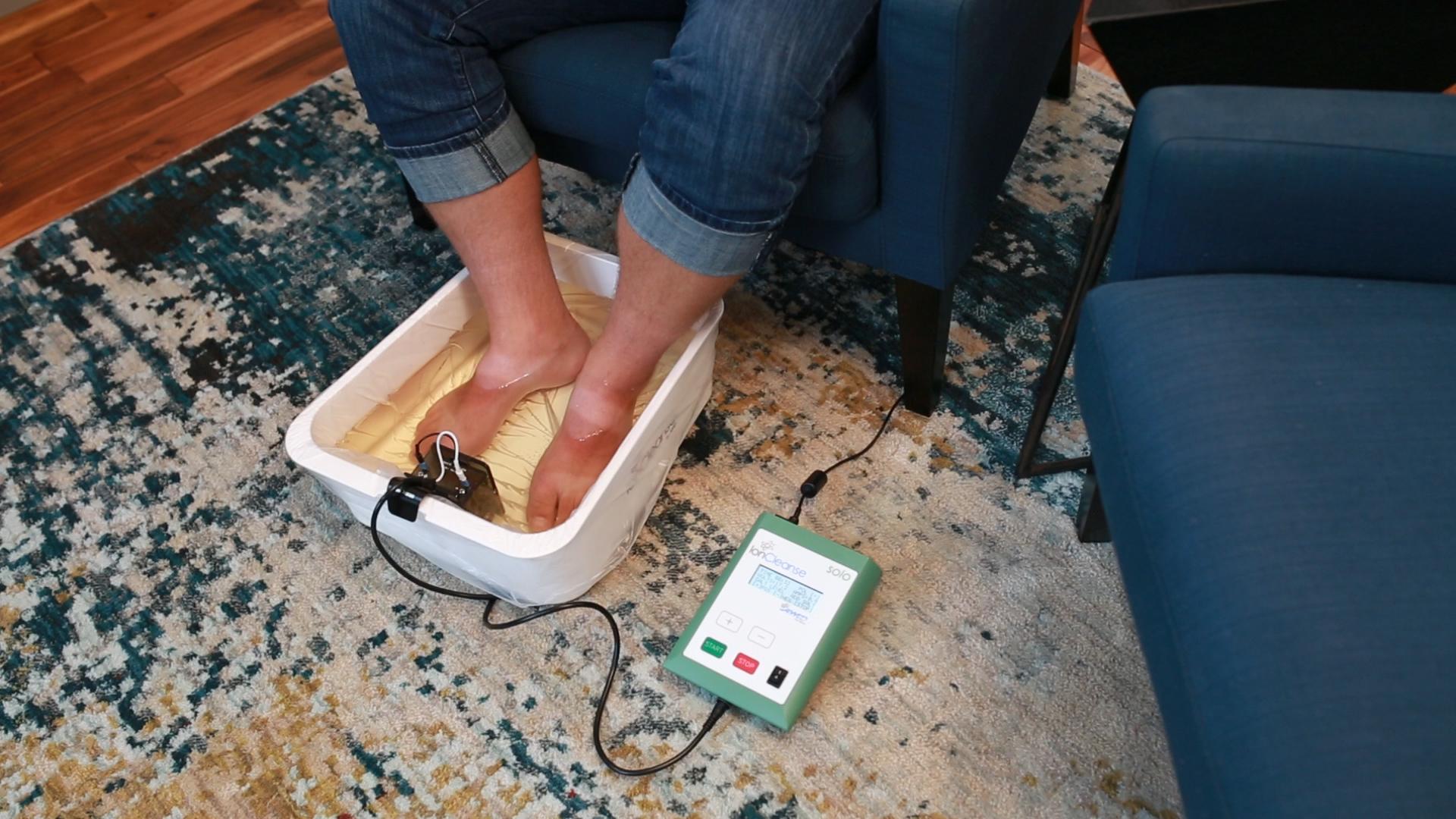 foot detox no change in color